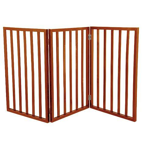 PETMAKER Freestanding Wooden Pet Gate