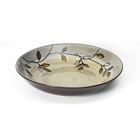 Pfaltzgraff Rustic Leaves Round Pasta Serve Bowl