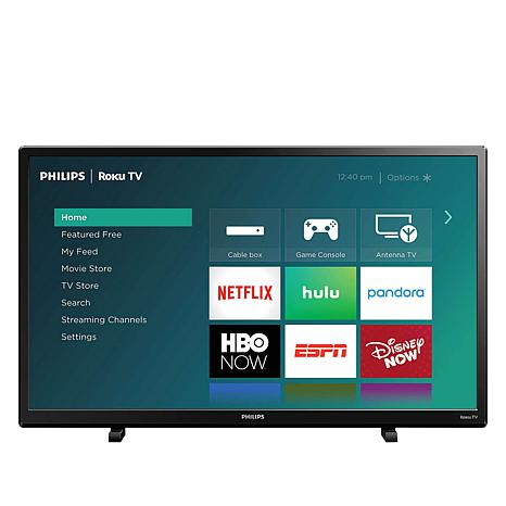 Philips 4000 Series 32 Led Smart Hdtv With Built In Roku 9383232 Hsn