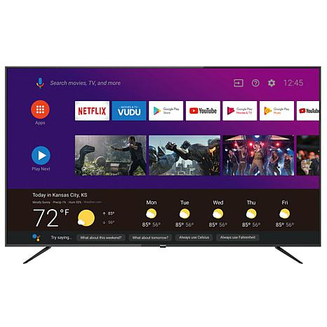 """Philips 75"""" 4K UHD Android TV with Built-in Google Assistant"""
