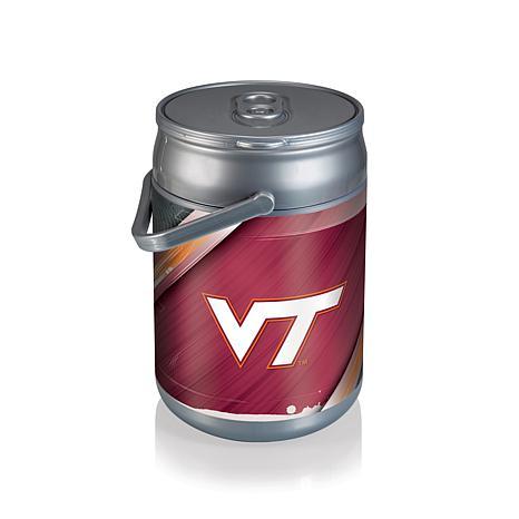 Picnic Time Can Cooler - Virginia Tech (Logo)