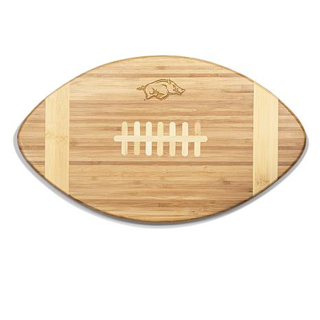 "Picnic Time ""Touchdown!"" Cutting Board - U of Arkansas"