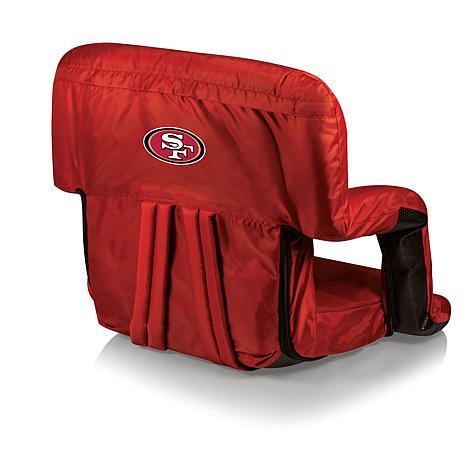 Picnic Time Ventura Folding Stadium Chair   San Francisco 49ers