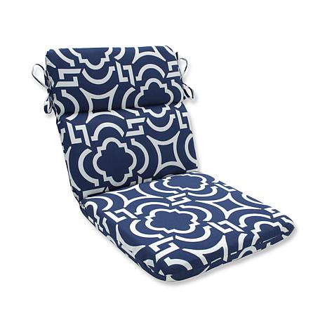 Pillow Perfect Carmody Rounded Corners Chair Cushion