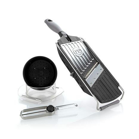 PL8 Handheld Mandoline Slicer and Peeler Set