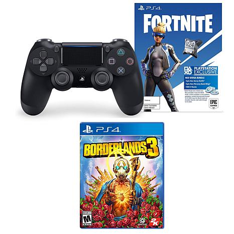 PlayStation 4 Dual Shock Controller with Fortnite and Borderlands3 ...