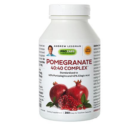 Pomegranate 40:40 Complex - 360 Capsules