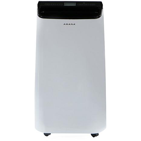 Portable Air Conditioner with Remote Control in White/Black for Roo...