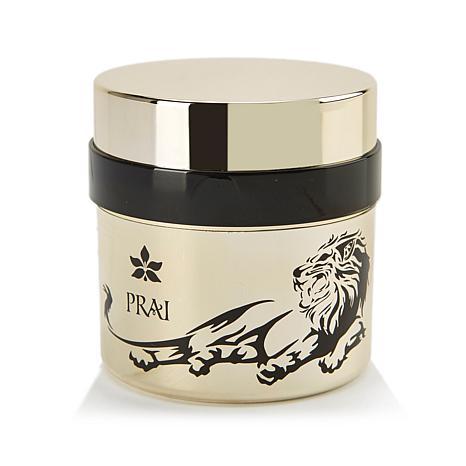 PRAI 24K Gold Wrinkle Night Creme in Lion Jar