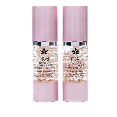 PRAI Radiant Night Caviar Advanced Serum Duo