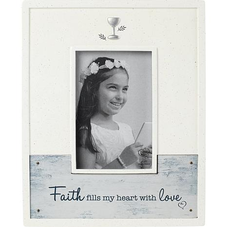 Precious Moments 193412 Faith Fills My Heart with Love Picture Frame