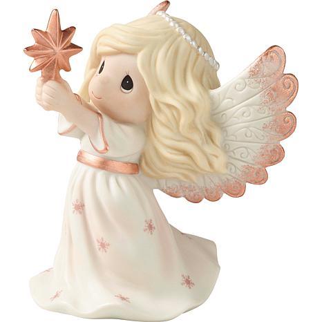 Precious Moments 9th Annual Angel Bisque Porcelain Figurine
