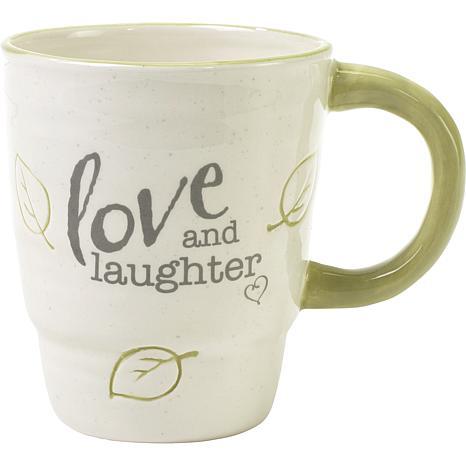 Precious Moments Love And Laughter Ceramic Mug