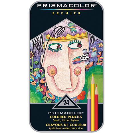Prismacolor Premier Colored Pencil 24-piece Tin
