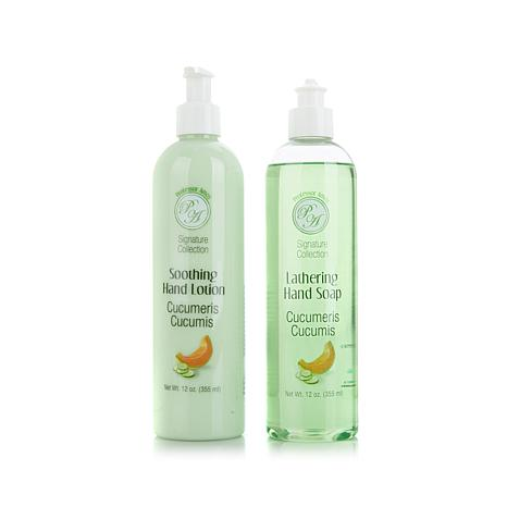 Professor Amos 12 oz. Hand Soap & Lotion Duo - Cucumber