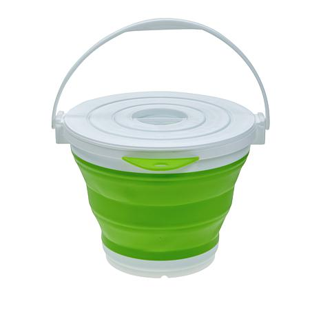 Professor Amos Collapsible Bucket with Lid
