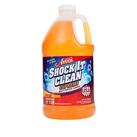 Professor Amos Shock It Clean Supreme 64 oz. Cleaner - Citrus Zest AS®