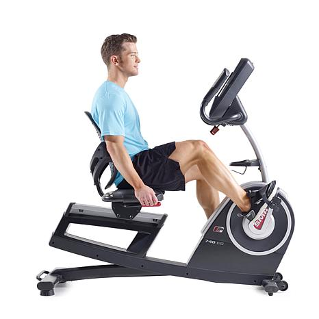 Proform 740 Es Ifit Recumbent Exercise Bike With Touchscreen