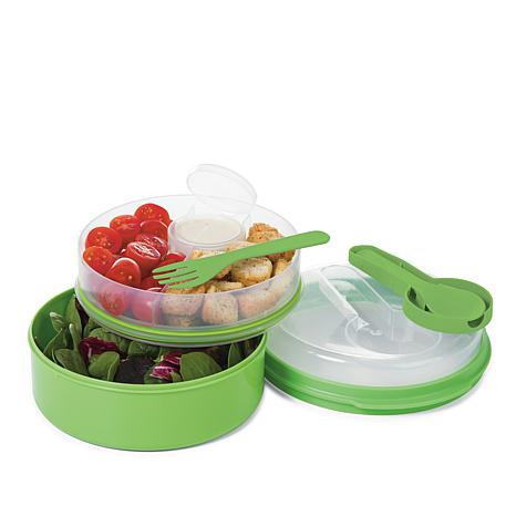 Progressive On the Go Lunch Container 2 pack 8446055 HSN