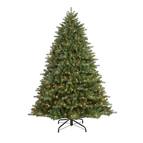 Puleo 7-1/2 ft. Pre-Lit Davidson Fir Premier Artificial Christmas Tree