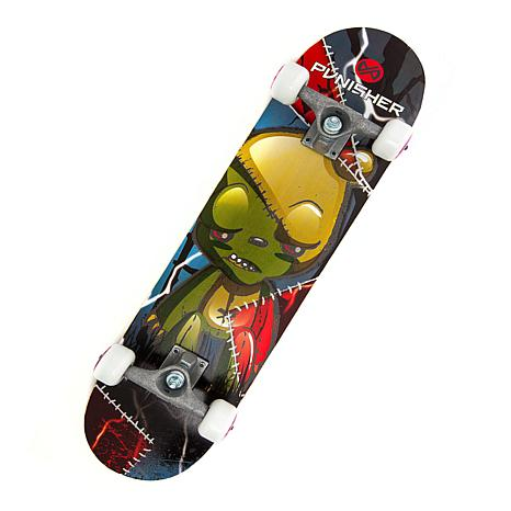 Punisher Complete Skateboard - Frankenbear
