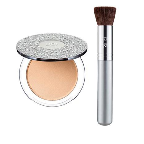 PUR  Bling Pressed Mineral Foundation - Golden Medium