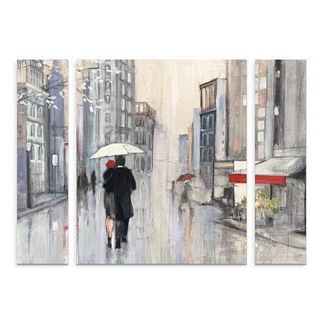 "Purinton ""Spring Rain New York Crop"" Art - 30"" x 41"""