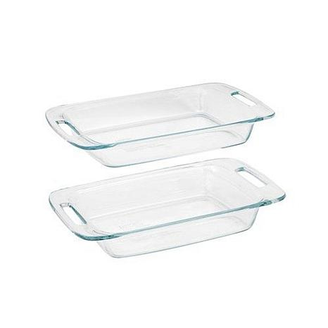 Pyrex Easy-Grab 2-piece Oblong Bakeware Value Pack