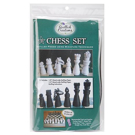 Quilled Creations Quilling Kit - Chess Set