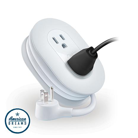 Quirky Port Power 3-Outlet Wrap-Around Extension Cord