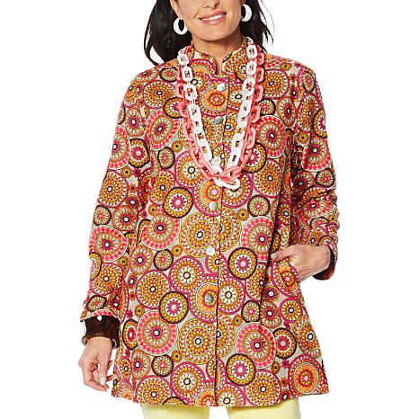 Rara Avis by Iris Apfel Embroidered Jacket