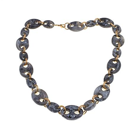 Rara Avis by Iris Apfel Resin Mariner Link Necklace