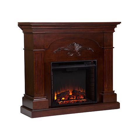 Ravenna Electric Fireplace - Mahogany