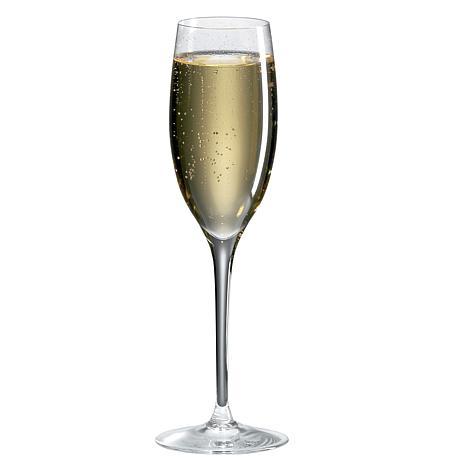 Ravenscroft Crystal Set of 4 Cuvee Champagne Glasses