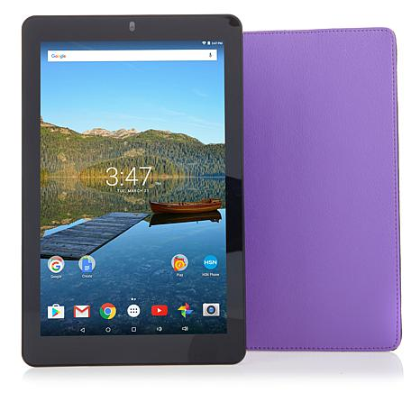 """RCA 10.1"""" HD IPS Quad-Core 32GB Android Tablet w/Case"""