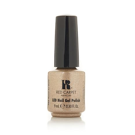 Red Carpet Manicure LED Gel Polish Good as Gold