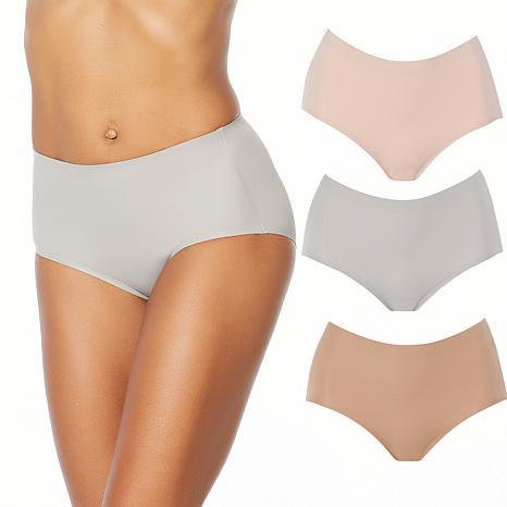 Rhonda Shear 3-pack Invisible Body Brief