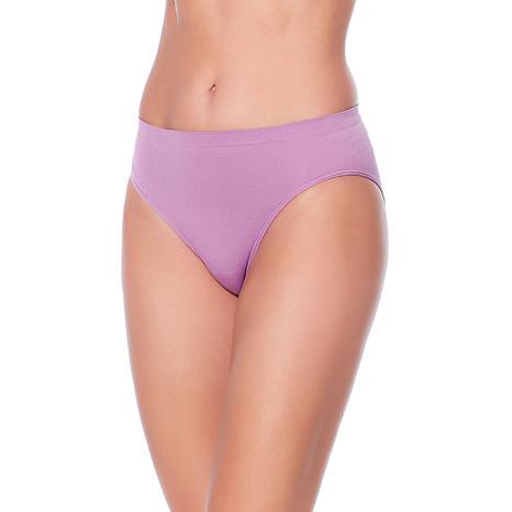 Rhonda Shear Ahh Seamless Brief Panty 4-pack