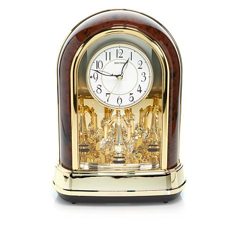 RHYTHM Crystal Dulcet Clock