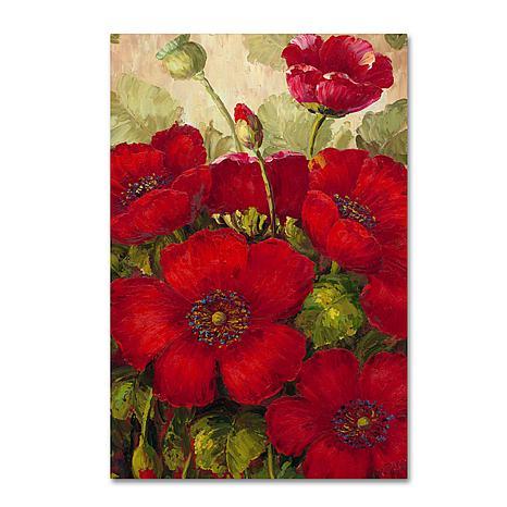 "Rio ""Poppies II"" Canvas Art - 47"" x 30"""