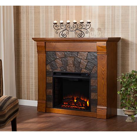 small indoor portable fireplaces