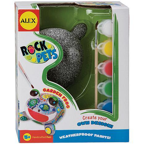 Rock Pets Paint Kit -Garden Frog