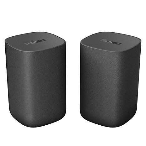 Roku Dual Surround Sound Wireless TV Speakers with Speech Clarity
