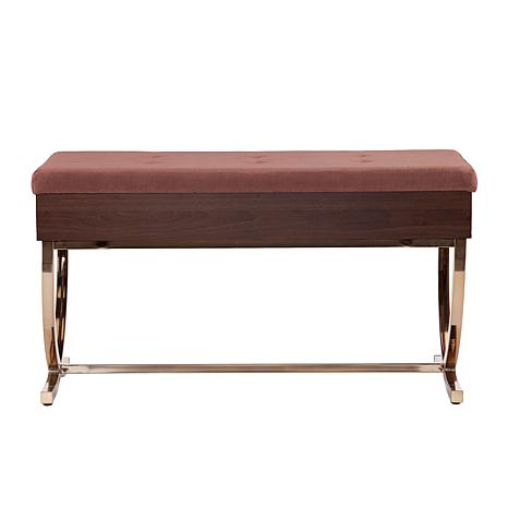 Rothley Tufted Lift Top Storage Bench 8505133 Hsn