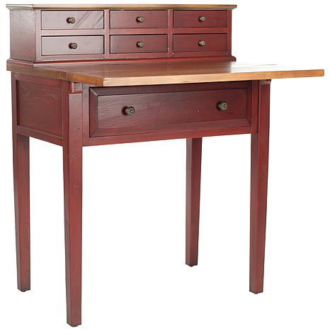 safavieh abigail 7drawer folddown desk - Fold Down Desk