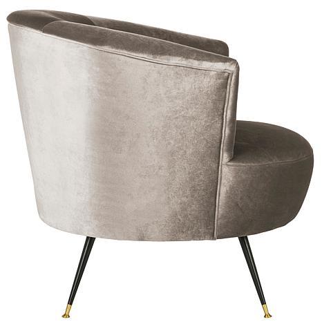 Swell Safavieh Arlette Velvet Retro Mid Century Accent Chair Creativecarmelina Interior Chair Design Creativecarmelinacom