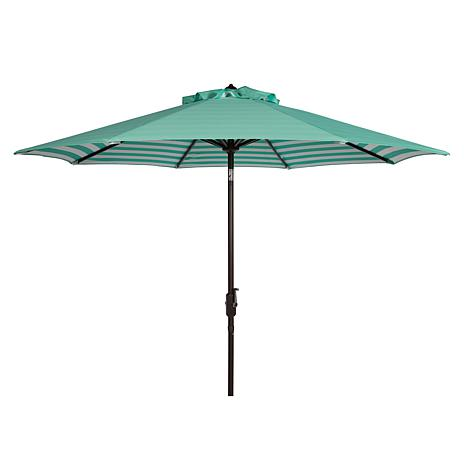 Safavieh Athens Inside Out 9' Crank Outdoor Umbrella
