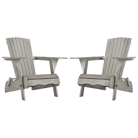 Safavieh Breetel Set of 2 Adirondack Chairs