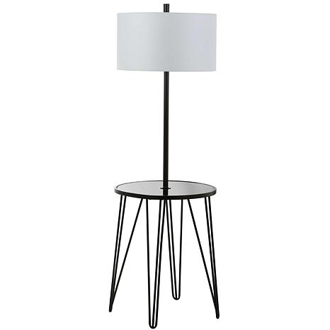 "Safavieh Ciro 58"" Floor Lamp Side Table"