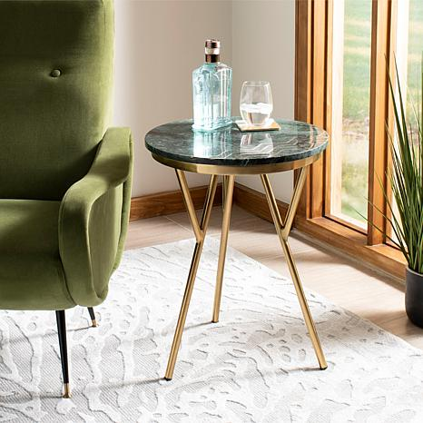 Safavieh Coletta Round Marble Accent Table